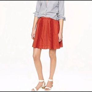 J. Crew Skirts - J. Crew sz 6 Swiss Dot Pom Pom skirt NWT perfect